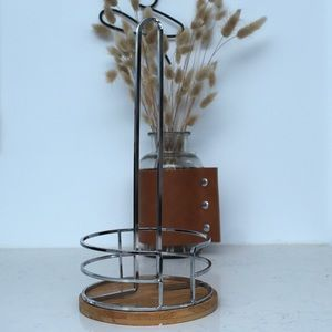 Other - Bamboo Paper Towel Holder